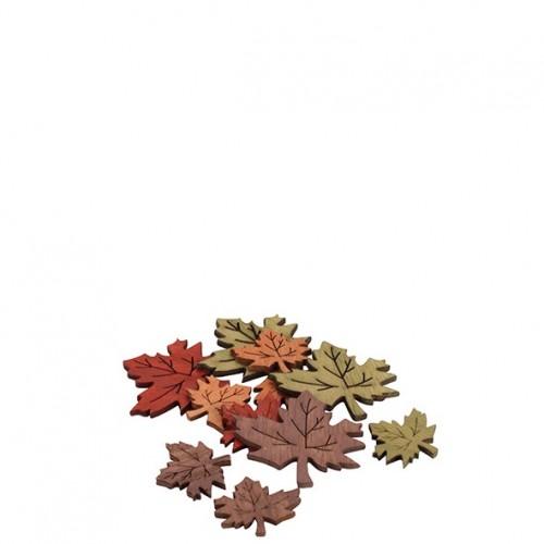 Holz Ahorn-Blätter