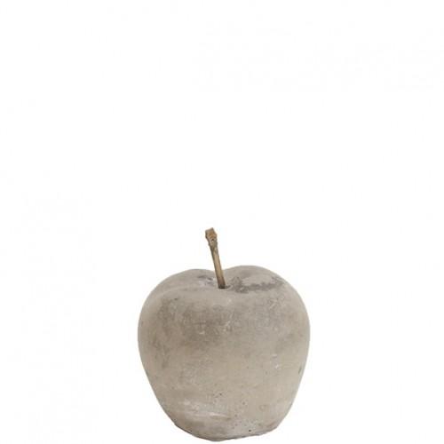 "Beton Apfel ""Varena"" Höhe 9cm"