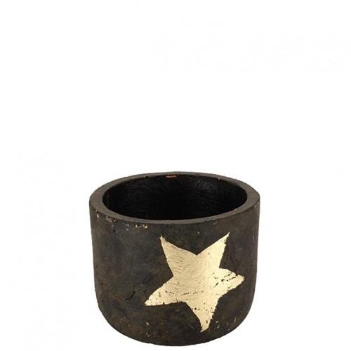 "Keramik Kübel ""Hope"" rund"
