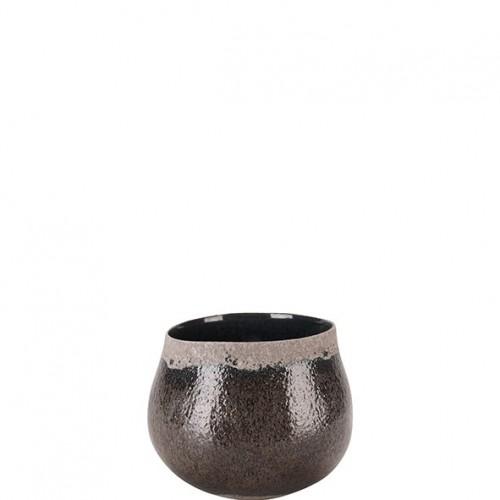 """Keramik Kübel """"Bojano"""" rund"""